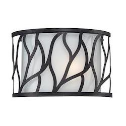 Designers Fountain Artisan 1 Light Bathroom Fixture from the Modesto Collection