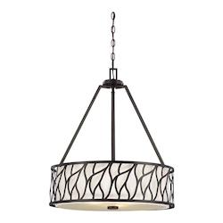 Designers Fountain Artisan 3 Light 25.25in. Foyer Pendant from the Modesto Collection