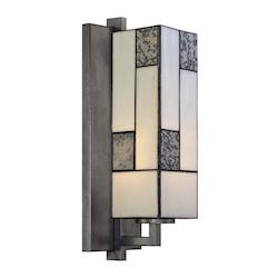 Designers Fountain Charcoal  1 Light Bathroom Fixture from the Bradley Collection