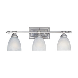 Designers Fountain Oil Rubbed Bronze 3 Light Bathroom Fixture