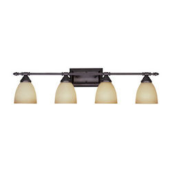 Designers Fountain Oil Rubbed Bronze Four Light Down Lighting 31.25