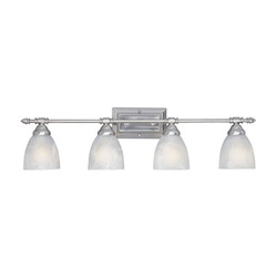 Designers Fountain Oil Rubbed Bronze Four Light Bathroom Fixture