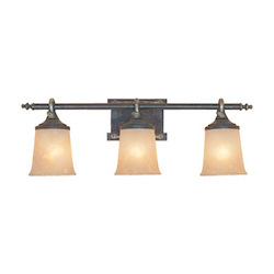 Designers Fountain Weathered Saddle Austin Three Light Down Lighting 27.5