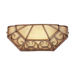 Designers Fountain Burnt Umber Single Light Ambient Lighting Wall Washer Amherst Collection