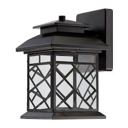 Designers Fountain Oil Rubbed Bronze Woodmere 1 Light Outdoor LED Wall Sconce