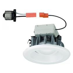 Designers Fountain White LED Recessed 1 Light 4in. LED Magnetic Trim