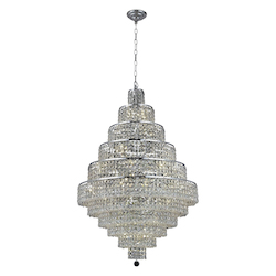 Elegant Lighting Royal Cut Clear Crystal Maxim 30-Light