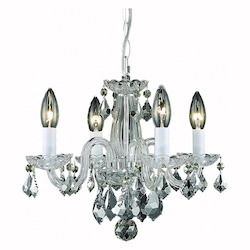 Elegant Lighting Pendant Light Chrome