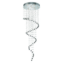 Elegant Lighting Royal Cut Clear Crystal Galaxy 10-Light
