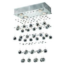 Elegant Lighting Royal Cut Clear Crystal Galaxy 4-Light