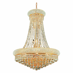 Elegant Lighting Elegant Cut Clear Crystal Primo 14-Light