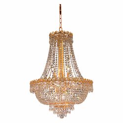 Elegant Lighting Swarovski Elements Clear Crystal Century 12-Light