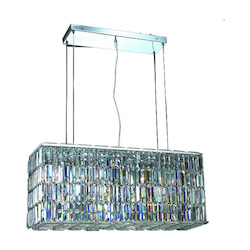 Elegant Lighting Swarovski Spectra Clear Crystal Maxim 8-Light Crystal Pendant