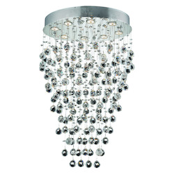 Elegant Lighting Swarovski Spectra Clear Crystal Galaxy 8-Light