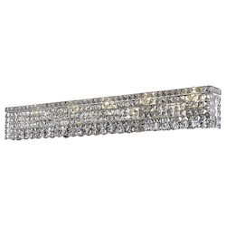 Elegant Lighting Swarovski Spectra Clear Crystal Maxim 10-Light Crystal Wall Sconce