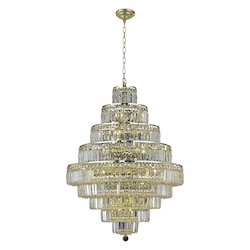 Elegant Lighting Elegant Cut Clear Crystal Maxim 20-Light
