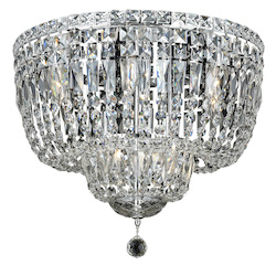 Elegant Lighting Swarovski Elements Clear Crystal Tranquil 10-Light