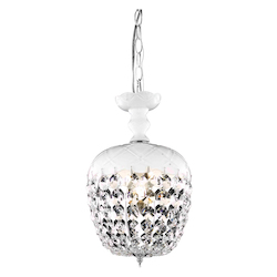 Elegant Lighting Pendant Light White