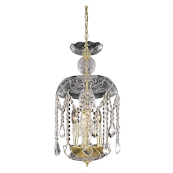 Elegant Lighting Pendant Light Gold