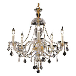 Elegant Lighting Swarovski Elements Clear Crystal Alexandria 5-Light