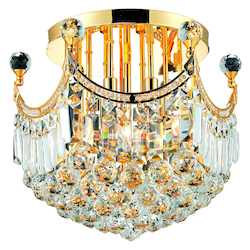 Elegant Lighting Swarovski Elements Clear Crystal Corona 6-Light