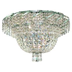 Elegant Lighting Swarovski Elements Clear Crystal Belenus 8-Light