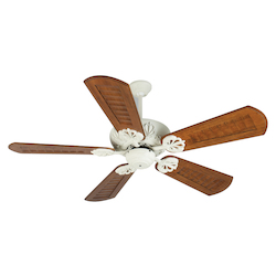 Craftmade Cordova Ceiling Fan In Antique White With 56