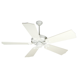 Craftmade White CXL 56in. 5 Blade Energy Star Indoor Ceiling Fan - Blades Included