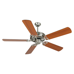 Craftmade Stainless Steel Cxl Ceiling Fan With Five 52