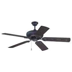 Craftmade Oiled Bronze Gilded Leeward 52in. 5 Blade Indoor Ceiling Fan - Blades Included