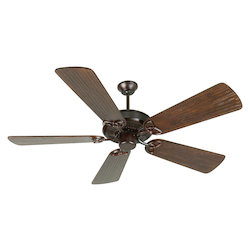 Craftmade Oiled Bronze CXL 54in. 5 Blade Energy Star Indoor Ceiling Fan - Blades Included