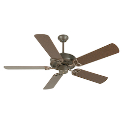 Craftmade Aged Bronze CXL 52in. 5 Blade Energy Star Indoor Ceiling Fan - Blades Included