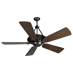 Craftmade Oiled Bronze Metro 54in. 5 Blade Indoor Ceiling Fan - Blades Included