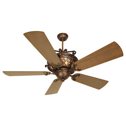 Craftmade Peruvian Toscana 54in. 5 Blade Indoor Ceiling Fan - Blades Included