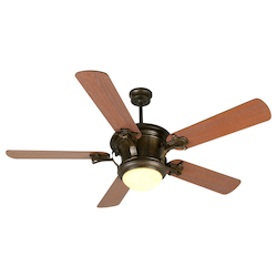 Craftmade Peruvian Amphora 52in. 5 Blade Indoor Ceiling Fan - Blades Included