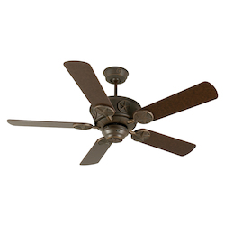 Craftmade Aged Bronze Chaparral 52in. 5 Blade Indoor Ceiling Fan - Blades Included