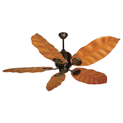 Craftmade Oiled Bronze Kona Bay 58in. 5 Blade Indoor Ceiling Fan - Blades Included