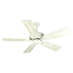 Craftmade Antique White Cordova Ceiling Fan With Five 54
