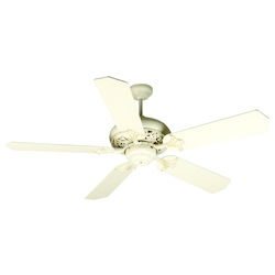 Craftmade Antique White Distressed Mia Indoor Ceiling Fan With Five 52