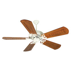 Craftmade Antique White CXL 56in. 5 Blade Energy Star Indoor Ceiling Fan - Blades Included