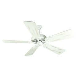 Craftmade Antique White CXL 54in. 5 Blade Energy Star Indoor Ceiling Fan - Blades Included