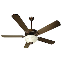 Craftmade Unipack Indoor Ceiling Fan With Five 52