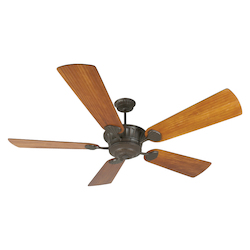 Craftmade Ceiling Fan In Aged Bronze With 70
