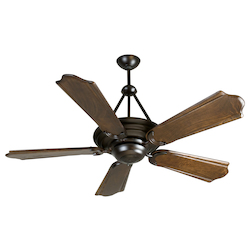 Craftmade Oiled Bronze Metro 56in. 5 Blade Indoor Ceiling Fan - Blades Included