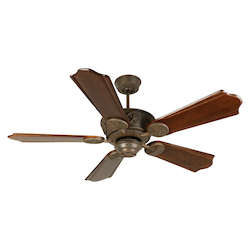 Craftmade Aged Bronze Chaparral 56in. 5 Blade Indoor Ceiling Fan - Blades Included