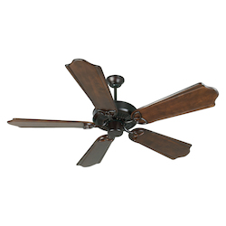 Craftmade Oiled Bronze CXL 56in. 5 Blade Energy Star Indoor Ceiling Fan - Blades Included