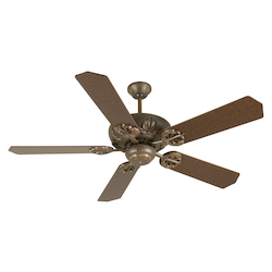 Craftmade 5 Blade Energy Star Indoor Ceiling Fan - Includes Blades, Aged Bronze
