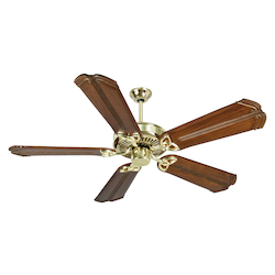 Craftmade Eiling Fan In Polished Brass With 56