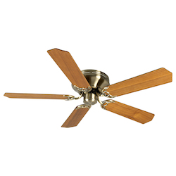 Craftmade Ceiling Fan In Antique Brass With 52