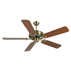Craftmade Antique Brass CXL 52in. 5 Blade Energy Star Indoor Ceiling Fan - Blades Included